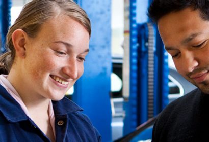 Become an apprentice or trainee