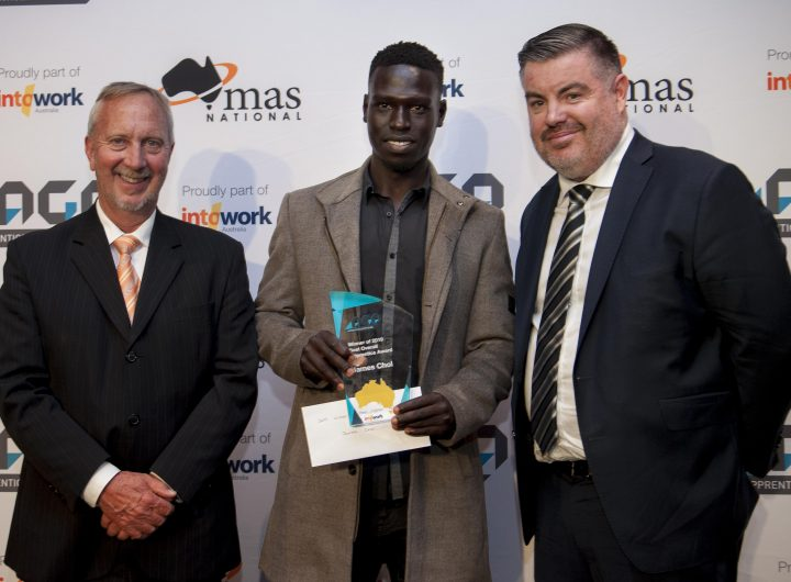 Best Overall Apprentice - James Chol